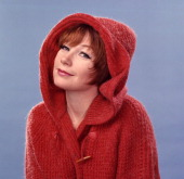 Against a blue background american actress shirley maclaine poses in picture id163841745?s=170x170