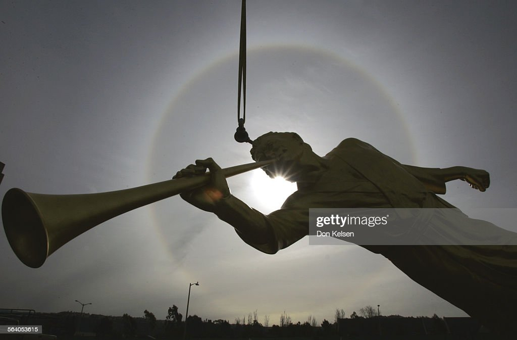 angel moroni stock photos and pictures getty images
