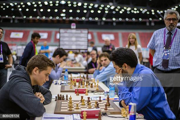 USA against Canada during the final round at the 42nd Chess Olympiad in Baku Azerbaijan on Tuesday September 13 2016