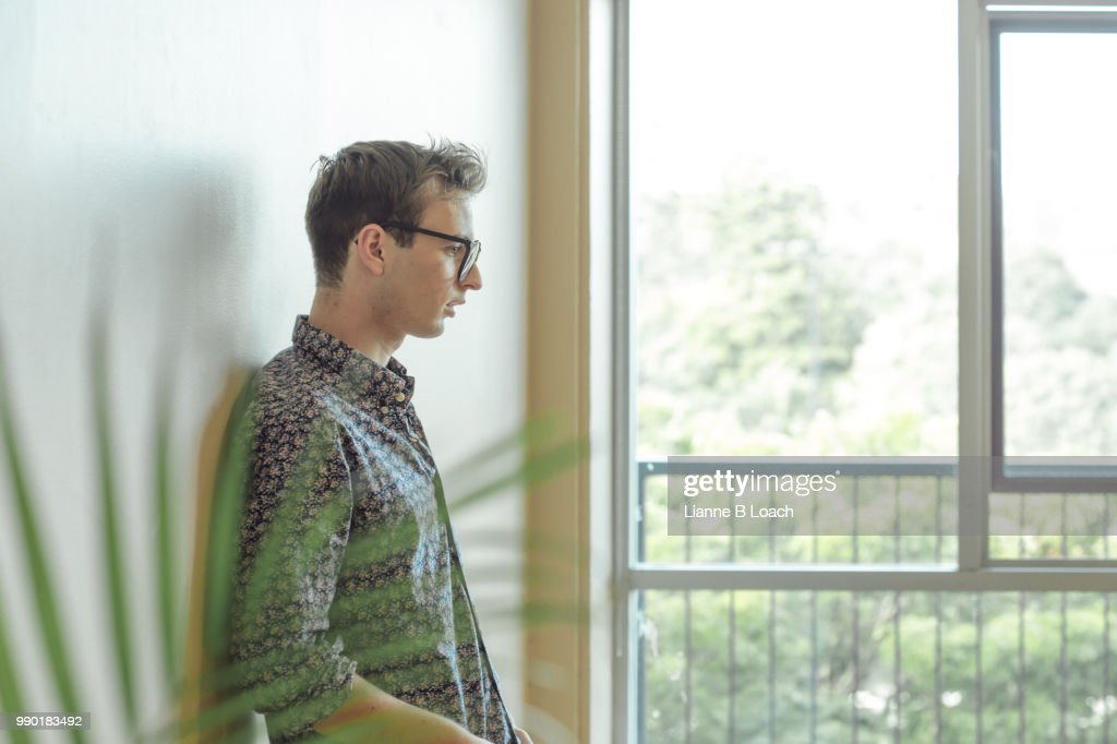 Against the Wall : Stock Photo