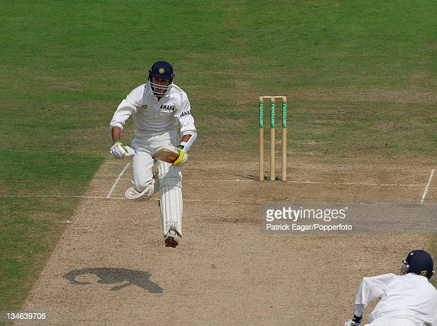 Agarkar reaches his century England v India 1st Test Lord's Jul 02