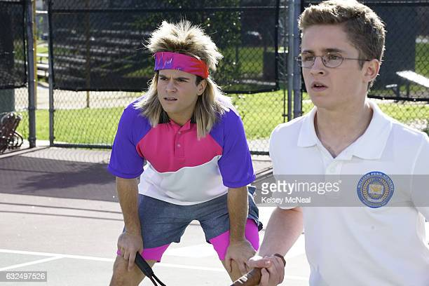 THE GOLDBERGS 'Agassi' Adam feels like he's losing his best friend Chad so he attempts to join the tennis team When Chad picks Dave Kim as his...