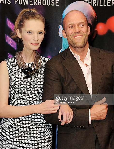 Agata Buzek and Jason Statham attend the UK Premiere of 'Hummingbird' at Odeon West End on June 17 2013 in London England