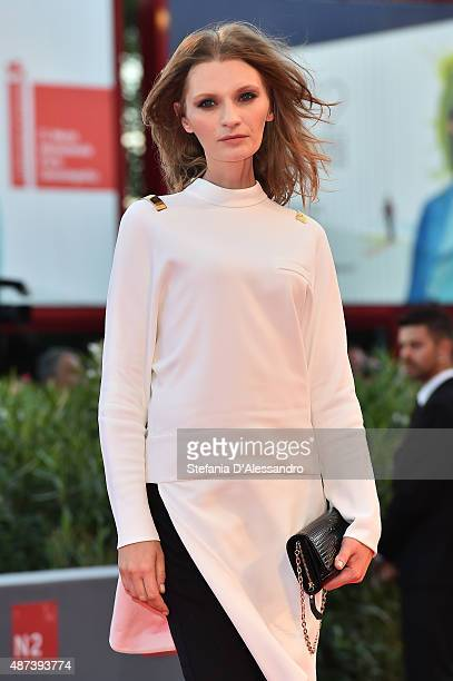 Agata Buzek attends a premiere for '11 Minutes' during the 72nd Venice Film Festival at Sala Grande on September 9 2015 in Venice Italy
