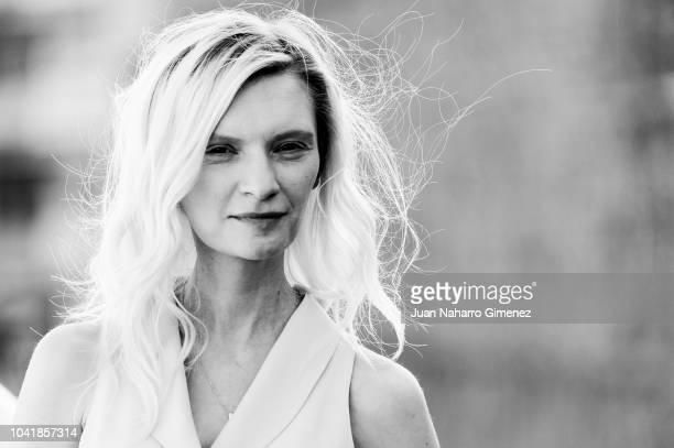 Agata Buzek attends the 'High Life' photocall during the 66th San Sebastian International Film Festival on September 27 2018 in San Sebastian Spain