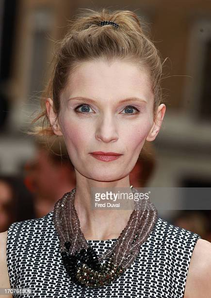 Agata Buzek attends the UK Premiere of 'Hummingbird' at Odeon West End on June 17 2013 in London England