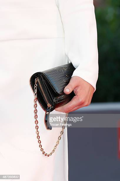 Agata Buzek detail attends a premiere for '11 Minutes' during the 72nd Venice Film Festival at Sala Grande on September 9 2015 in Venice Italy