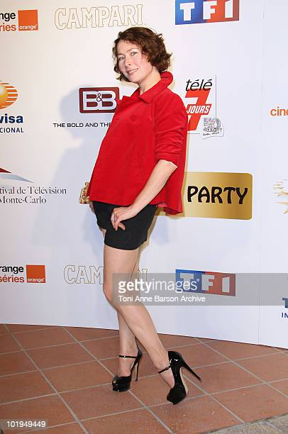 Agata Gotova attends The Monte Carlo TV Festival 50th Anniversaryat MonteCarlo Bay Hotel on June 9 2010 in MonteCarlo Monaco