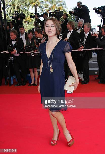 Agata Gotova during 2007 Cannes Film Festival Palme D'Or Arrivals at Palais des Festivals in Cannes France