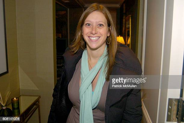 Agatha Capacchione attends MICHAEL S SMITH AGRARIA COLLECTION LAUNCH at Lowell Hotel on April 18 2007