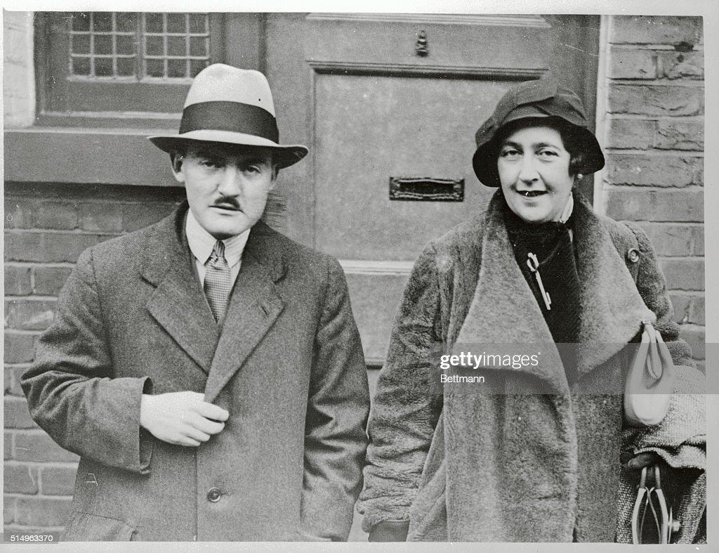 Agatha Christie and Max Mallowan : News Photo
