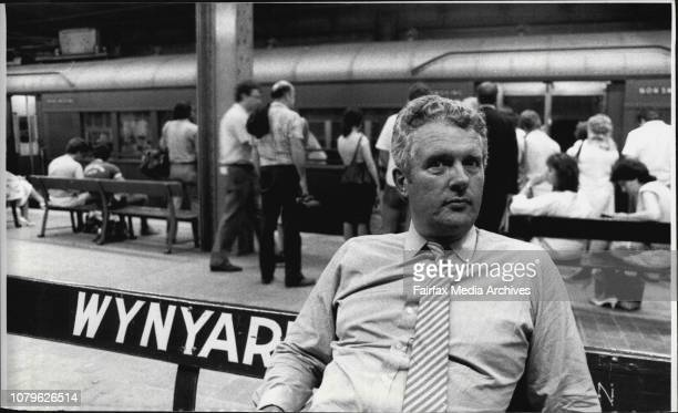 Agatha Christie's grandson Mathew Prichard. November 14, 1985. .