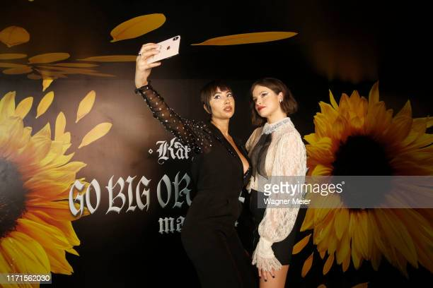 Agatha Moreira and Jackie Cruz attend Talk Show with influencers and party with Brazilian Actress Agatha Moreira at Casa Sephora 2019 Edition in Joá,...