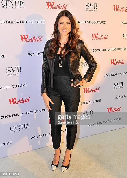 Agatha Relota Luczo hosts the Cocktails Couture luxury event at Westfield Valley Fair on November 12 2015 in Santa Clara California
