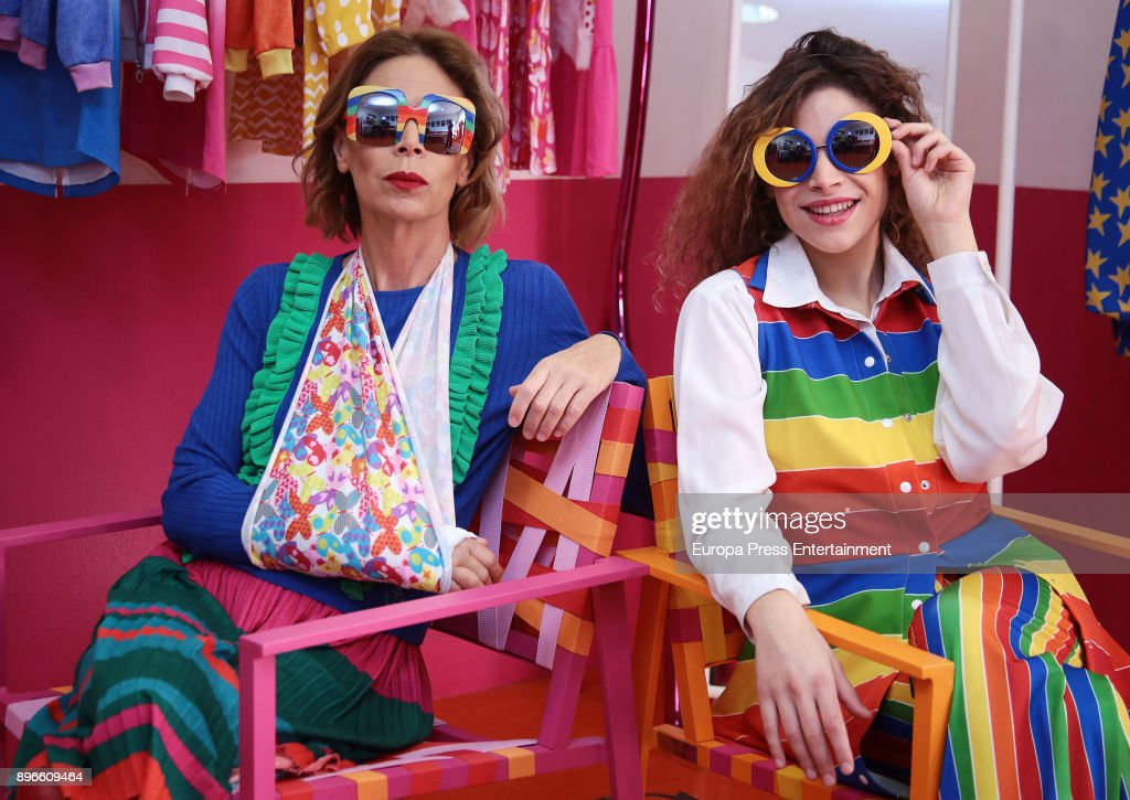 5d772f5873cbe Agatha Ruiz de la Prada New Sunglasses Collection Presentation   News Photo