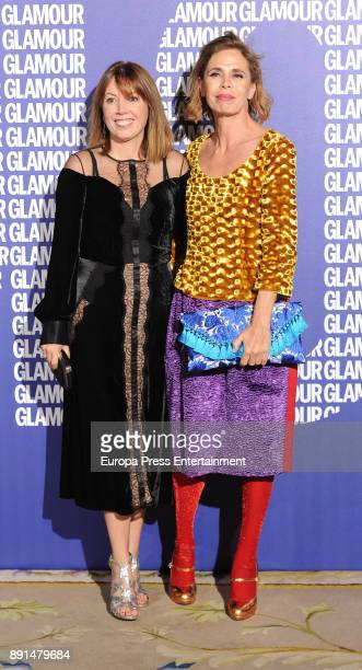 Agatha Ruiz de la Prada attend the Glamour Magazine Awards and 15th anniversary dinner at The Ritz Hotel on December 12 2017 in Madrid Spain