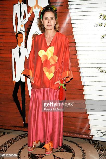 Agatha Ruiz de la Prada attends EL MUSEO's 15th Annual Gala at Cipriani 42nd Street on May 22 2008 in New York City