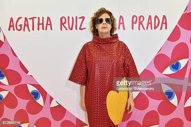 Agatha Ruiz de la Prada attends MIDO 2016 the Milano Eyewear Show during Milan Fashion Week FW16 on February 27 2016 in Milan Italy