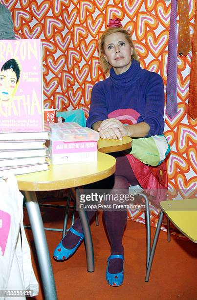 Agatha Ruiz de la Prada attends 'Rastrillo Nuevo Futuro' at La Pipa in Casa de Campo on November 20 2011 in Madrid Spain