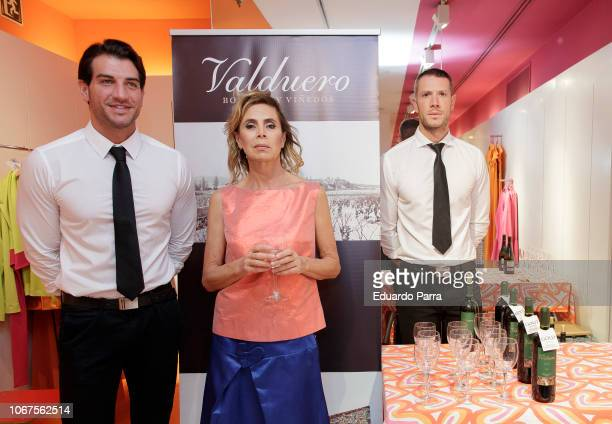 Agatha Ruiz de la Prada attends the 'Carmen Figaredo' opening expo at Agatha Ruiz de la Prada store on November 14 2018 in Madrid Spain