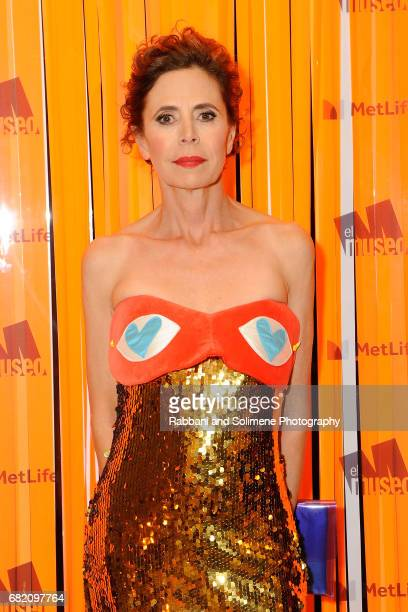 Agatha Ruiz de la Prada attends the El Museo Gala 2017 at The Plaza Hotel on May 11 2017 in New York City