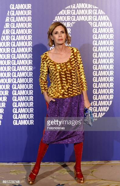Agatha Ruiz de la Prada attends the Glamour Magazine Awards and 15th anniversary dinner at The Ritz Hotel on December 12 2017 in Madrid Spain