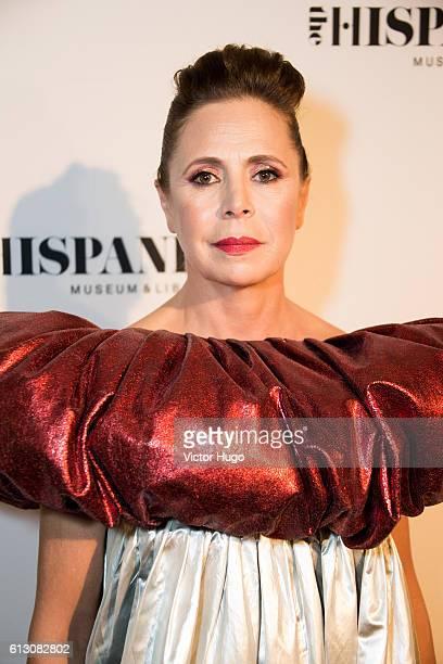 Agatha Ruiz De La Prada attends The Hispanic Society Museum and Library 2016 Gala at Metropolitan Club on October 6 2016 in New York City