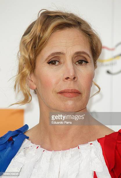 Agatha Ruiz de la Prada attends 'X Prix Dialogo' awards party at Casa Monico on June 4 2013 in Madrid Spain
