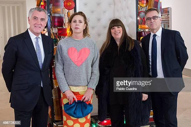 Agatha Ruiz de la Prada Joana Vasconcelos and Guillermo Solana present 'Strangers In The Night' exhibition at the Thyssen Bornemisza Museum on...