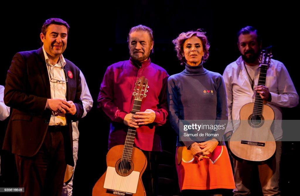 Agatha Ruiz De La Prada Presents 'Misa Flamenca. Los Gitanos Cantan A Dios' in Madrid