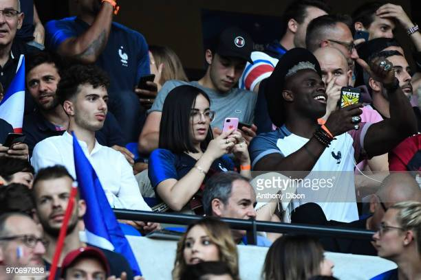 Agathe Auproux during the International Friendly match between France and United States at Groupama Stadium on June 9, 2018 in Lyon, France.
