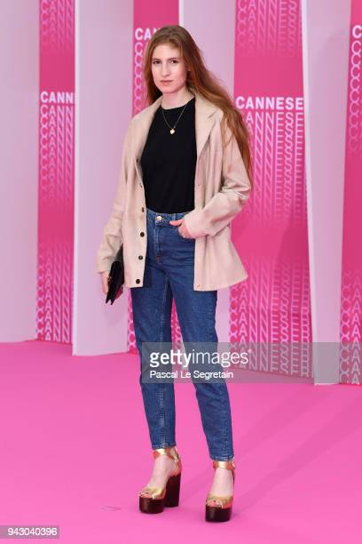 Agathe Bonitzer attends the Launch of the Official Competition and 'The Truth About The Harry Quebert Affair' screening during the 1st Cannes...