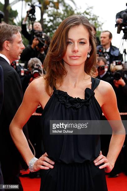 Agathe Borne arrives at the Un Conte De Noel Premiere at the Palais des Festivals during the 61st International Cannes Film Festival on May 16 2008...