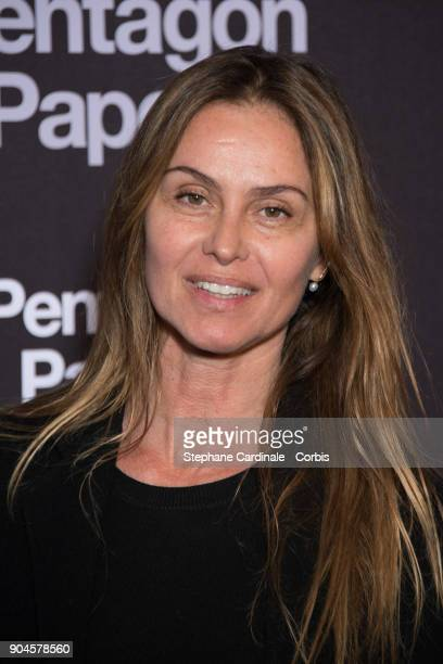 Agathe De La Fontaine attends 'Pentagon Papers' Premiere at Cinema UGC Normandie on January 13 2018 in Paris France