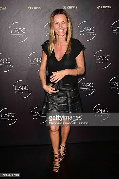 Agathe de La Fontaine attends the Arc Opening Party on October 3 2014 in Paris France