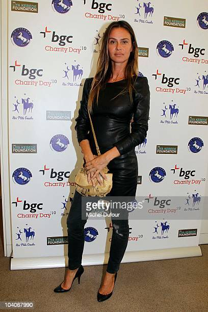 Agathe de la Fontaine attends the Aurel BCG Charity Day Benefit 'Les Petits Cracks' on September 13 2010 in Paris France
