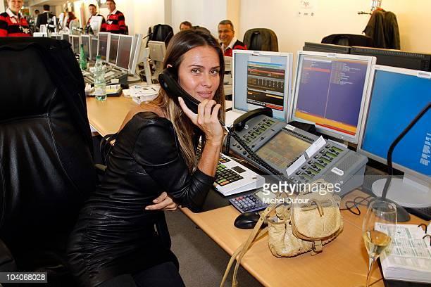 Agathe de la Fontaine attends the Aurel BCG Charity Day Benefit 'Les Petits Cracks' on September 13 2010 in Paris France