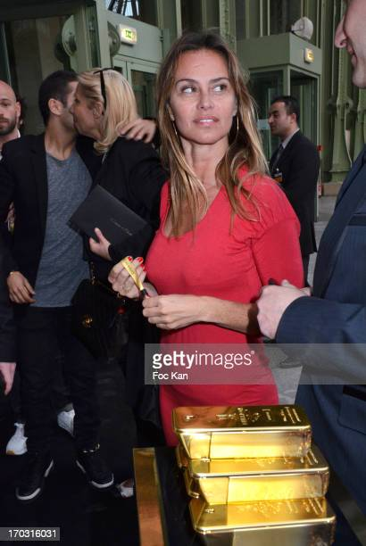 Agathe de La Fontaine attends the 'Drive In Intense' Perfume I million by Paco Rabanne Launch Party and Premiere of 'Insaisissables' at the Grand...
