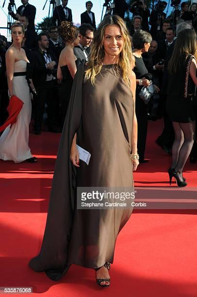 Agathe de la Fontaine attends the 'La Venus A La Fourrure' premiere during the 66th Cannes International Film Festival