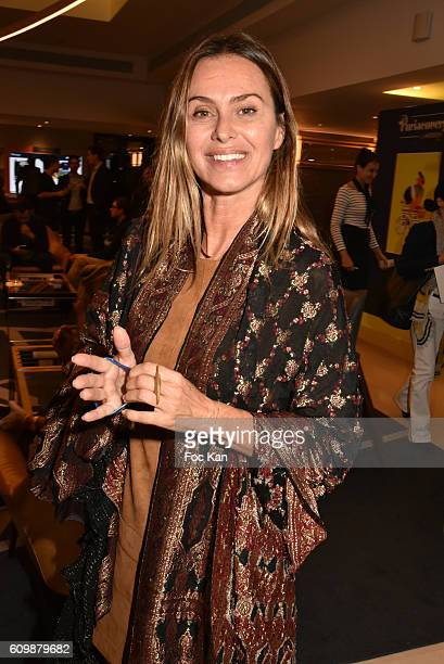 Agathe de La Fontaine attends the Meredien Etoile Opening Party on September 22 on September 22 2016 in Paris France