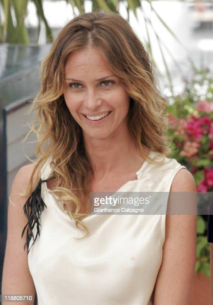 Agathe de la Fontaine during 2007 Cannes Film Festival Le Scaphandre et le Papillon Photocall at Palais des Festivals in Cannes France