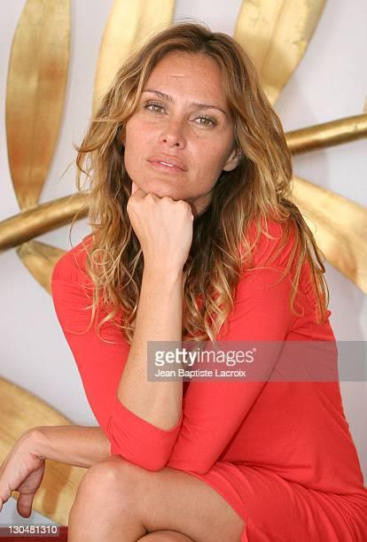 Agathe de la Fontaine during 2007 Cannes Film Festival Various Celebrity Portraits at Palais des Palmes in Cannes France