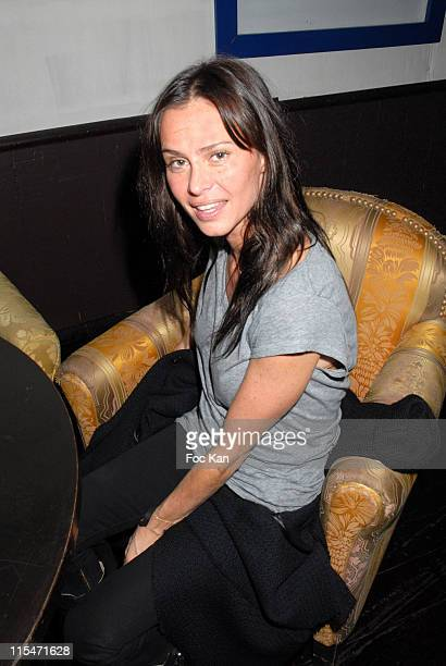 Agathe de La Fontaine during ''Le Scaphandre et le Papillon'' End of Shooting Party at Mandala Ray in Paris France