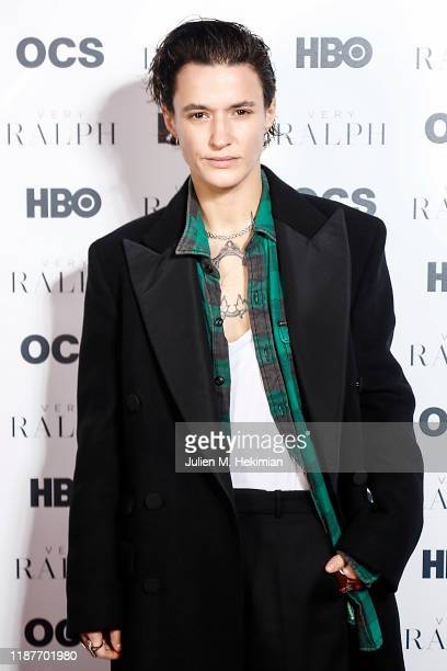 Agathe Mougin attends the Paris Premiere of HBO Documentary Films 'Very Ralph' at Cinema Beau Regard on November 13 2019 in Paris France
