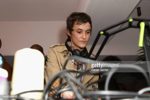 Agathe Mougin DJs at the AnOther Magazine x Prada private screening and party for Luca Guadagnino's Suspiria and AnOther A/W18 during Paris Fashion...
