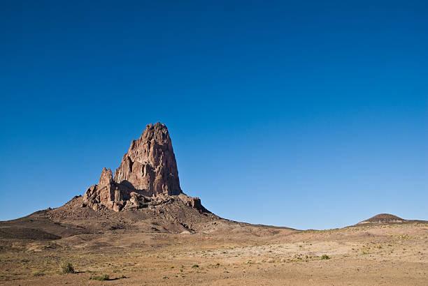 Agathla Peak and Desert