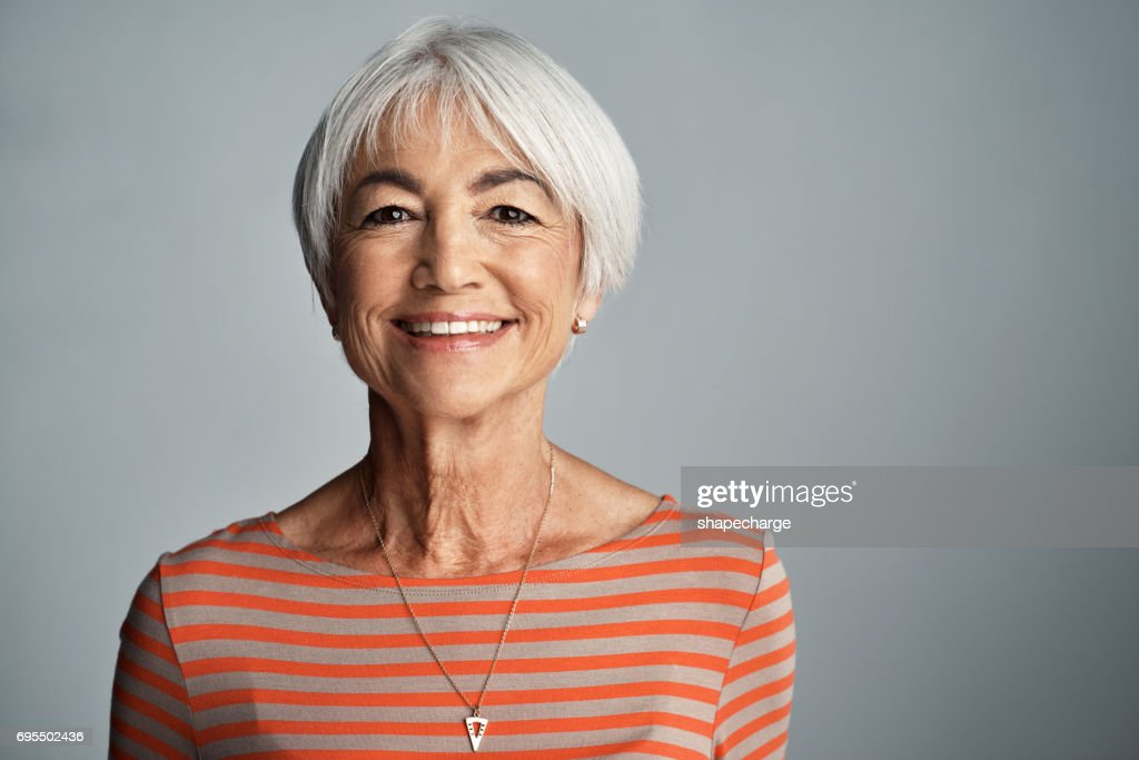 Age is whatever you think it is! : Stock Photo