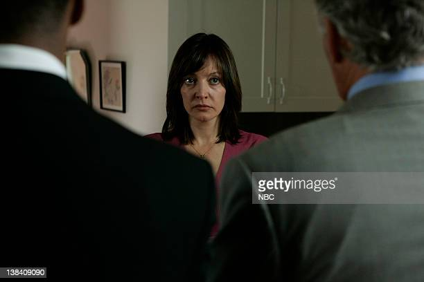 LAW ORDER 'Age of Innocence' Episode 4 Aired Pictured Jesse L Martin as Detective Ed Green Arabella Field as Susan Alfani Dennis Farina as Detective...