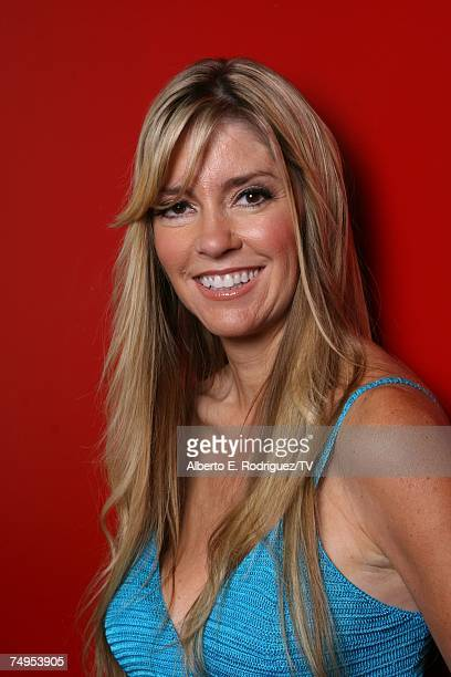 'Age of Love' contestant Jodie Fisher poses for a portrait at TV Guide Channel Studios on June 22 2007 in Hollywood California