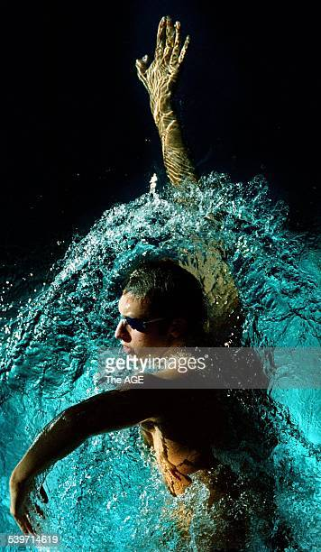 Age of Swimming 2007 How a champion is made Ian Thorpe at a training session in Sydney His arm span is 192 centimetres and he has size 17 feet In a...